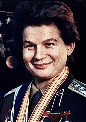 Valentina, en 1963, tras su histórico viaje espacial. (Foto: AP)