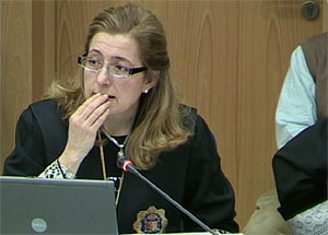 La fiscal, Olga Sánchez. (Foto: LaOtra)