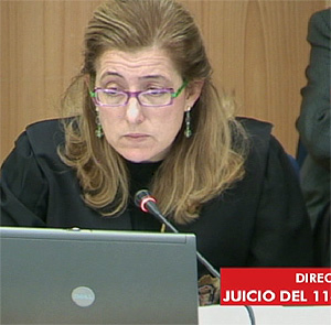La fiscal, Olga Sánchez, pregunta a 'Cartagena'. (Foto: LaOtra)