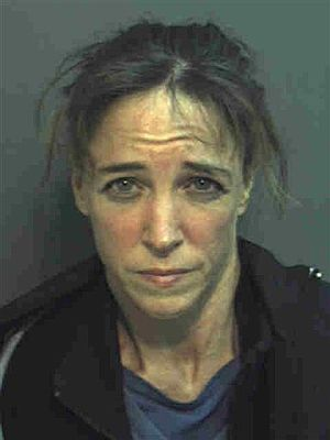 Lisa Marie Nowak, tras su detención. (Foto: AP)