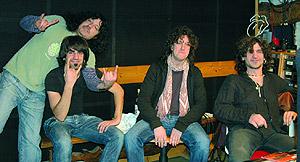 Los integrantes de La inconsciencia de Uoho. (Foto: Muxik)