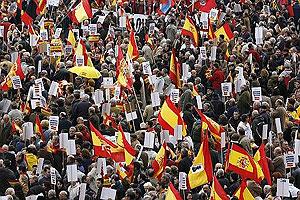 Manifestación en Madrid el pasado 24 de febrero. (Foto: EFE)