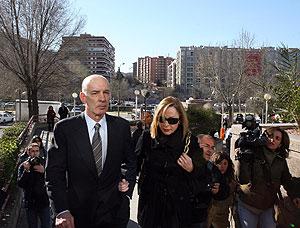 José Amedo, junto a su esposa María Angeles Acedo. (Foto: Chema Tejeda)