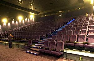Imagen de una sala de cine. (Foto: Carlos García)