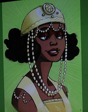 Maddy, la princesa negra de Disney. (Foto: AP)