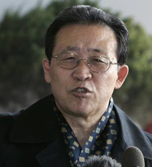 Kim Kye-gwan, a su llegada a Pekín. (Foto: REUTERS)