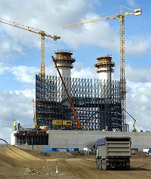 La construcción va a un ritmo más lento de lo esperado. (Foto: EFE)