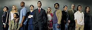 Los protagonistas de la serie. Segundo por la derecha, Isaac Mendez, el personaje supuestamente plagiado.