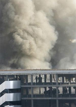 El atentado en la T-4 de Barajas rompió la tregua de ETA. (Foto: EFE)