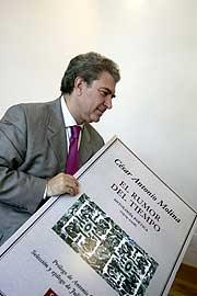 César Antonio de Molina. (Foto: R. Cases)
