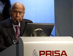 El presidente de Prisa, Jesús de Polanco. (Foto: EFE)