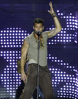 El cantante Ricky Martin, uno de los personajes puertorriqueños más conocidos. (Foto: REUTERS)