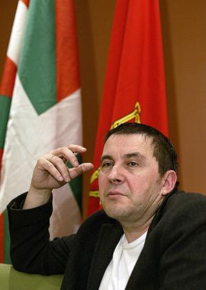 Otegi, líder de la ilegalizada Batasuna. (Foto: REUTERS)