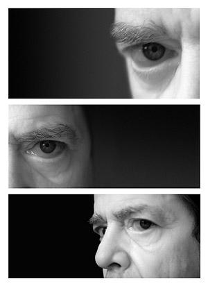 Autorretrato de Lou Reed de la exposición 'Fotógrafos insospechados'.