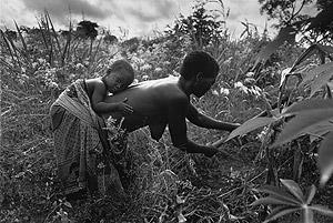 Fotografía perteneciente a 'África', la muestra de Sebastião Salgado.