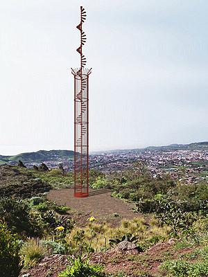 Monumento a las víctimas del accidente. (Foto: Asociación Tenerife Memorial)