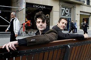 Andrés Barba y Javier Montes. (Foto: EFE)