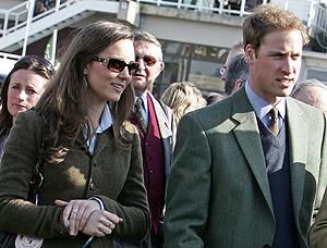 El príncipe Guillermo y Kate Middleton. (Foto: AFP)