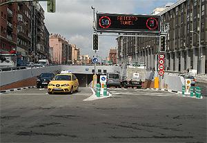 Imagen del túnel abierto este martes. (Foto: munimadrid.es)