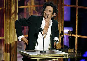 Keith Richards en la 22 edición del 'Rock and Roll Hall of Fame'. (Foto: REUTERS)