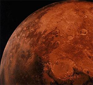 Imagen de la superficie de Marte captada por la sonda 'Viking'. (Foto: REUTERS)