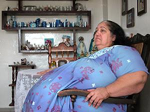 Una mujer cubana de 227 kilos cambia su actual piso, en una cuarta ...