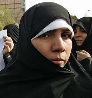 Una mujer iraní. (Foto: AFP)