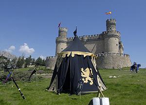 El castillo tendrá un centro de interpretación del medievo. (Foto: EL MUNDO)