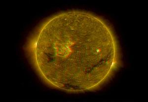 Una de las imágenes del Sol publicadas por la NASA. (Foto: NASA)