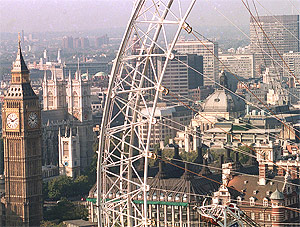 Imagen aérea de la ciudad. (Foto: REUTERS)