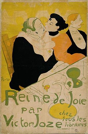 Uno de los carteles de Toulouse-Lautrec. (Museo de Diseño de Zurich)