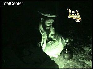 Al Hadi, en un vídeo de Al Qaeda. (Foto: AP)