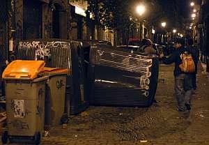 Aspecto de una de las calles del barrio de Malasaña. (Foto: EFE)