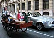 Ecomudanza en bici.