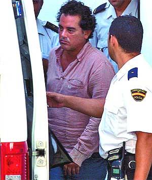 Jenaro Briales, director general de Aifos, tras prestar declaración ante el juez. (Foto: Carlos Díaz)