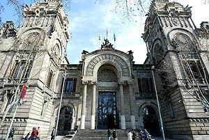 La Audiencia Provincial de Barcelona. (Foto: Santi Cogolludo)