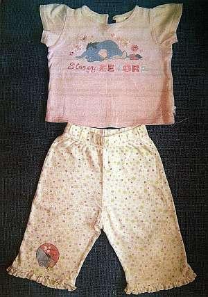 Un pijama igual al que vestía Madeleine McCann en el momento de su desaparición. (Foto: EFE)