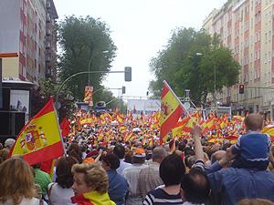 Una imagen de la concentración en Madrid. (Foto: Margarita Lázaro)