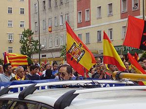 Otra imagen de la manifestación en Madrid. (Foto: Margarita Lázaro)