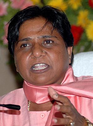 Mayawati, líder del Bahujan Samaj Party. (Foto: AP)