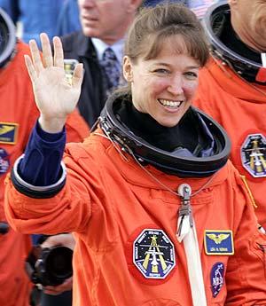 Lisa Nowak, en una imagen de 2006. (Foto: AP)