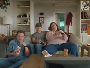 Comida basura, televisión basura, publicidad basura....