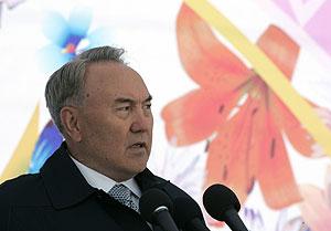 Nursultan Nazarbayev, en una imagen tomada el pasado mes de marzo. (Foto: REUTERS)