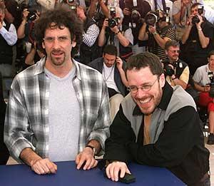 Los hermanos Joel y Ethan Coen, directores de la película. (Foto: AFP)