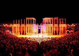 El Teatro Romano de Mérida será el escenario principal del festival. (Foto: elmundo.es)