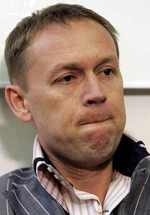 Andrei Lugovoi, durante una rueda de prensa el pasado mes de febrero. (Foto: AP)