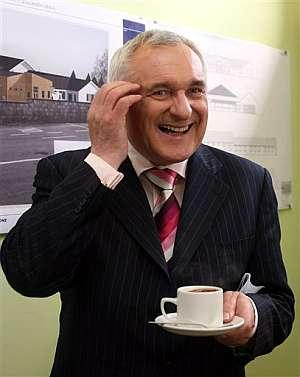 Bertie Ahern, actual primer ministro de Irlanda. (Foto: AP)