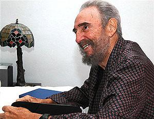 Fidel Castro, durante el proceso de recuperación. (Foto: AP)