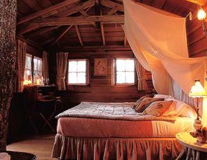 El dormitorio. (Foto: Éditions de la Martière)