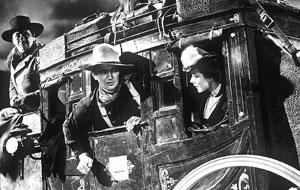 John Wayne, en una escena de 'La diligencia'.